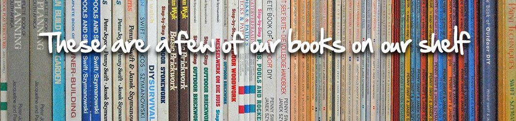 how to books on shelf
